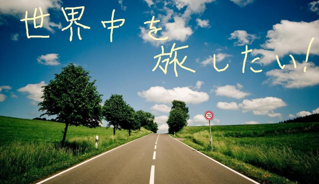 日本人のトップ1%に入れ。世界を自由に旅をして真実を知る。