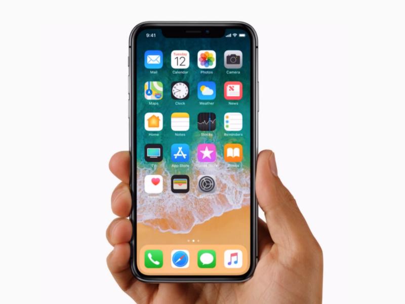 iPhoneXがやってきた